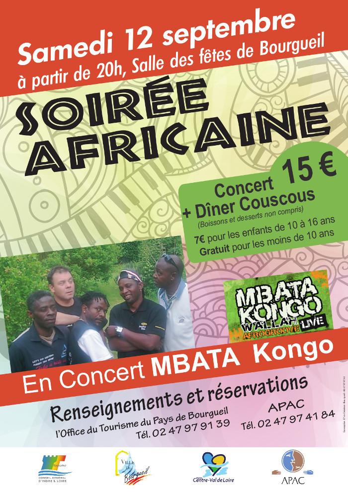 Soir�e africaine de l'APAC - CID-MAHT